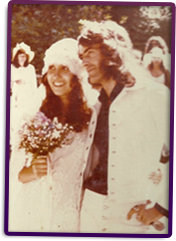 Pete & Jeannette Sears, Wedding (1975)
